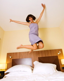 0908 bed jumping