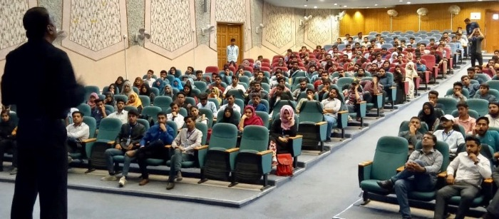 Mush Panjwani at Dawood University of Engineering and Technology